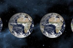 ECMWF global weather model