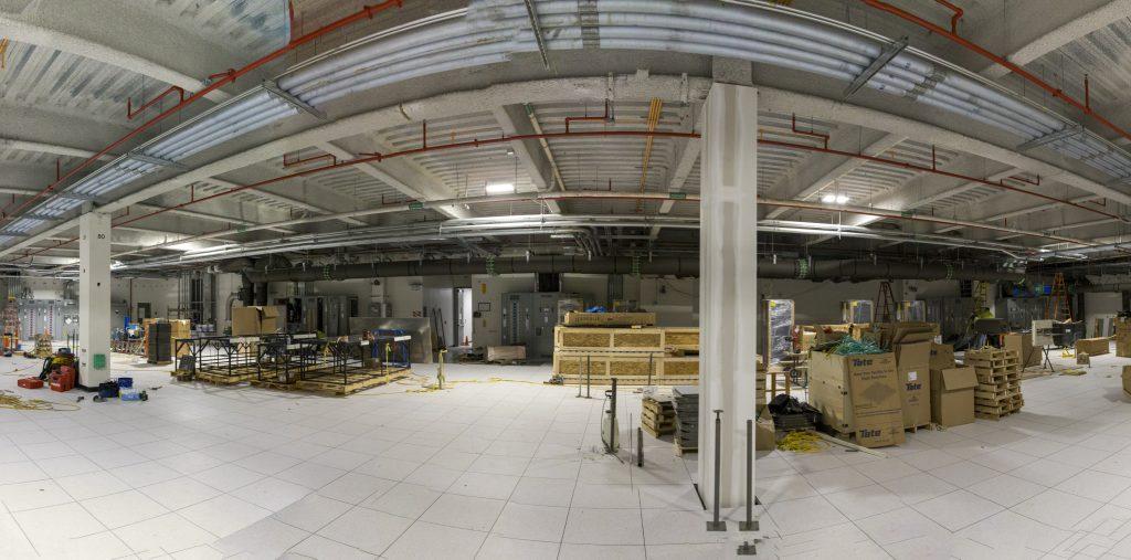 Frontier data center construction